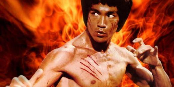 My face cut doesn't look awesome and badass like Bruce Lee's. It looks stupid and weaksauce.