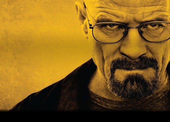 Walter White from AMC's Breaking Bad. Bon voyage, awesome show. Thanks for the lessons.