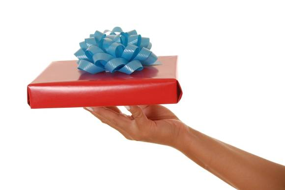 I must learn to accept gifts.  So must we all.