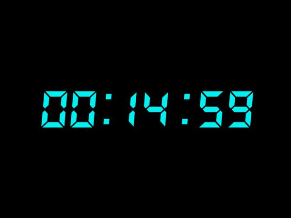 15 min countdown