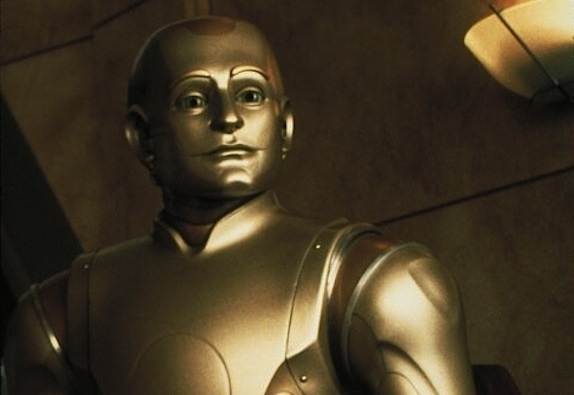 "I don't recall Andrew wiping any butts in ""Bicentennial Man."" But I might have to watch it again to be sure."