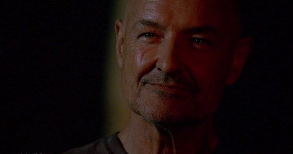 "I Googled ""Look of satisfaction."" I got John Locke from ""Lost."" Fine. We'll go with that."