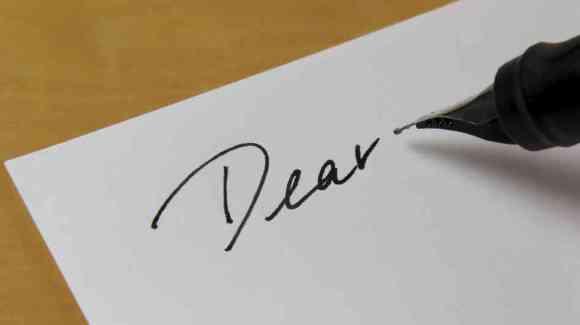 dear letter