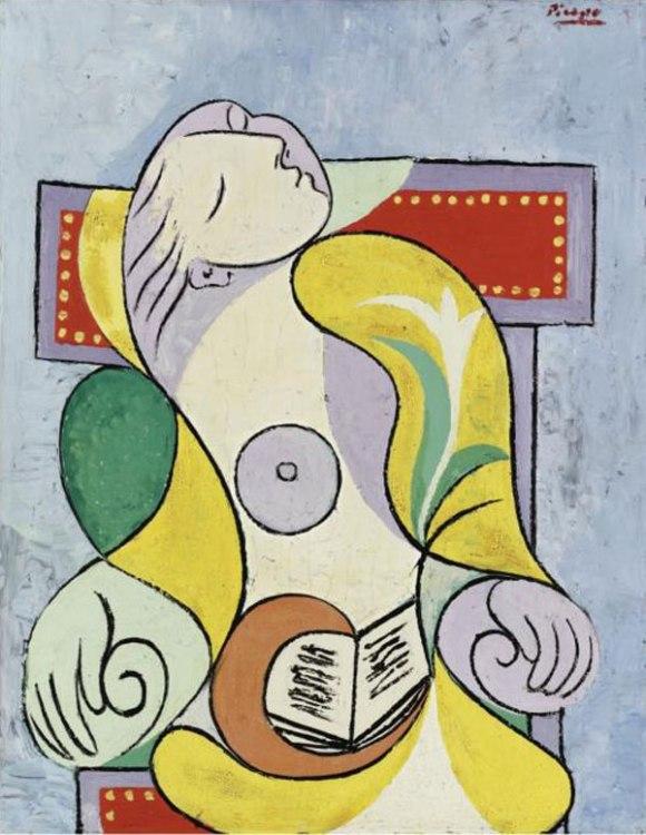"""""""La Lecture"""" by Pablo Picasso"""