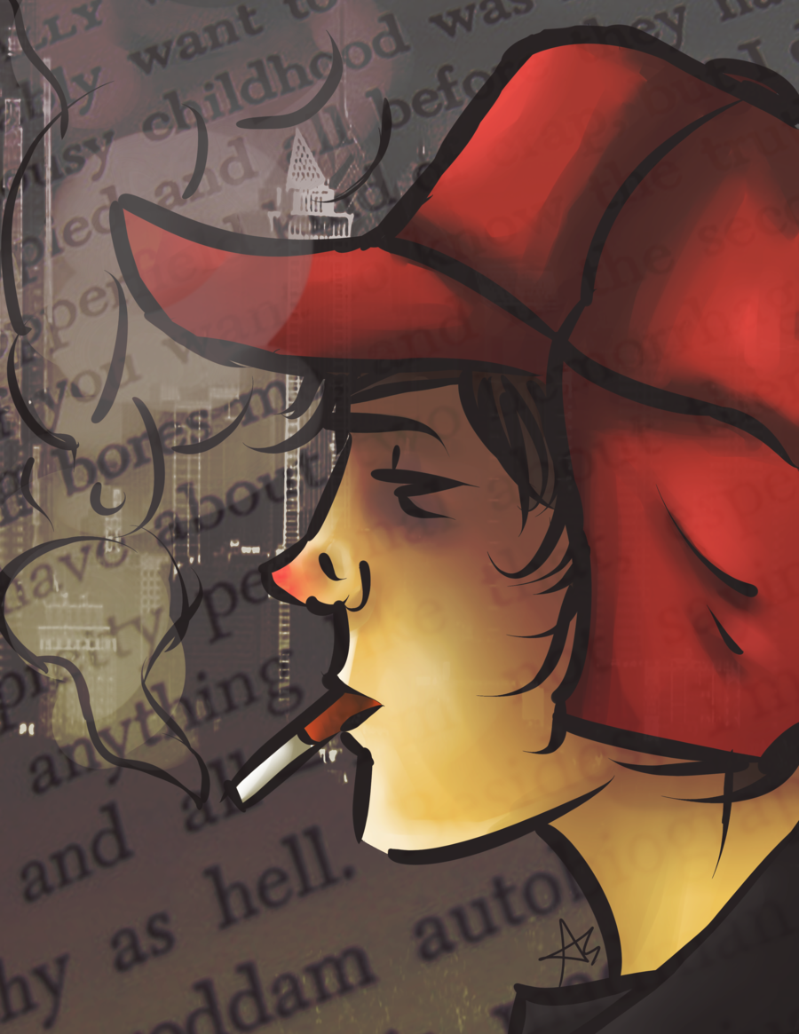 the innermost thoughts and feelings of holden caulfield in the catcher in the rye