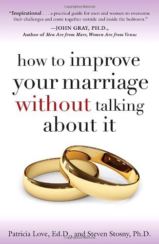 Read this book. I don't care if you're happy in your marriage or in your relationship. Read it anyway. Please. It could change everything.