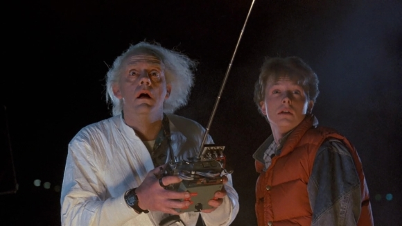 Doc Brown and Marty McFly Back to the Future