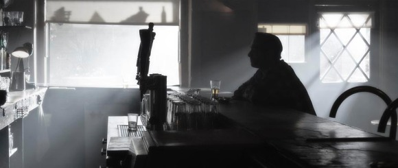 guy at bar alone