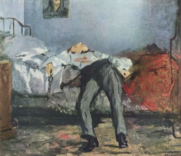 The Suicide by Edouard Manet