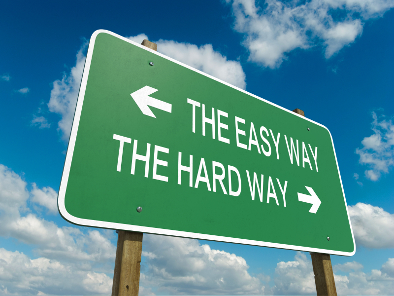 easy way hard end choose paths ways divorce which traders ride basic must trading istock mistakes prepping nichols kelly feeling