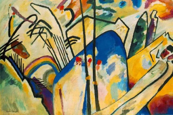 What is this? Is it good? Bad? Valuable? Who gets to decide? (Artwork by Wassily Kandinsky)