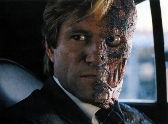 Harvey Two-Face Dent in The Dark Knight