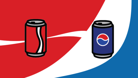 Coke vs. Pepsi by Adweek