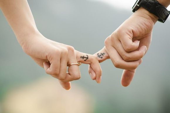 interlocked fingers - rebuilding trust in relationship