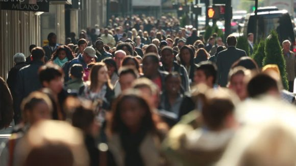 busy street in New York City - Shutterstock