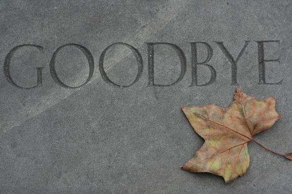 goodbye gravestone