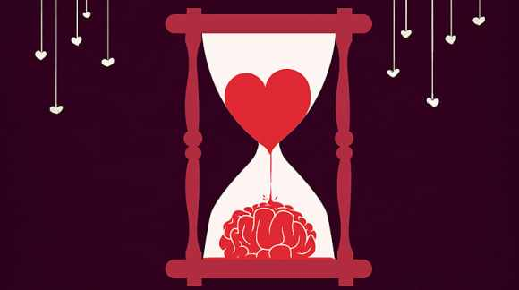 time heart brain love