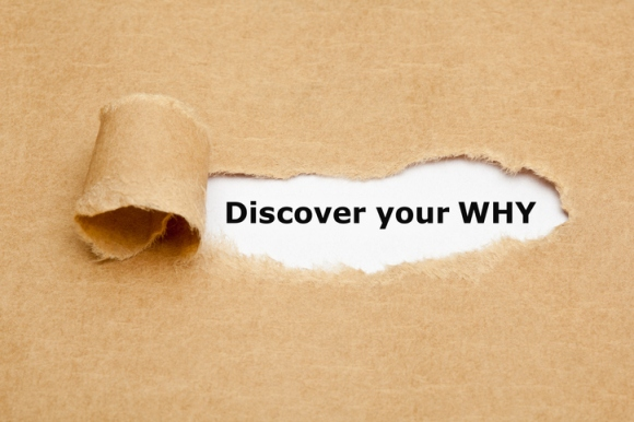 Discover Your Why Torn Paper Concept