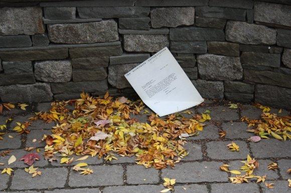 regret to inform letter
