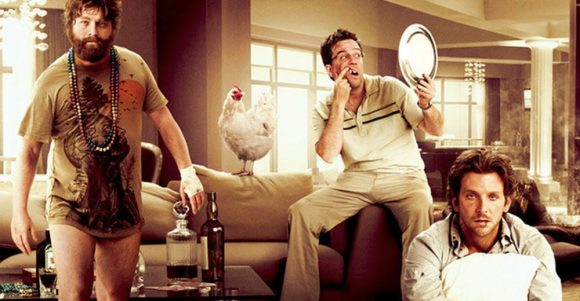 movie still from The Hangover